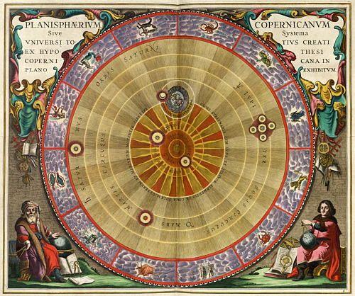 Nicolás Copernico y la teoría heliocéntrica.       Feliz 540 cumpleaños,19 de febrero 1473.