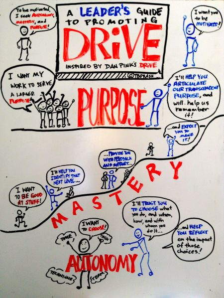 A leader's guide to promoting Daniel Pink's Drive