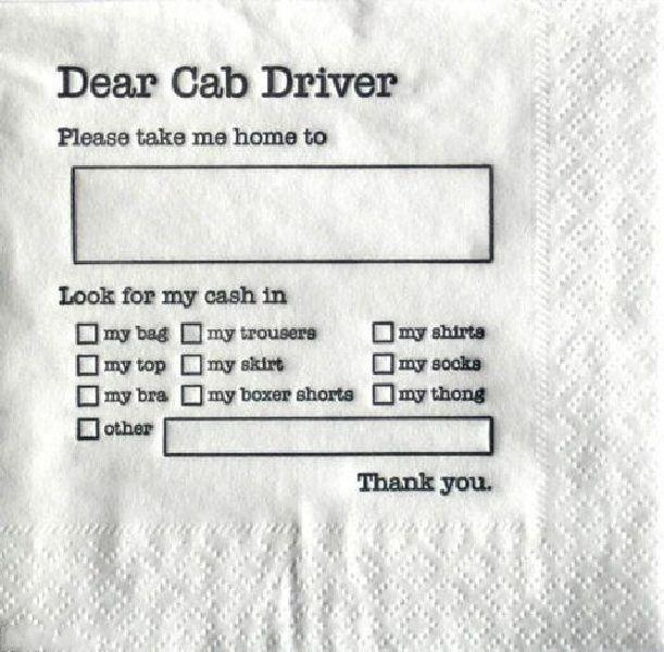 @Cab Driver directions....