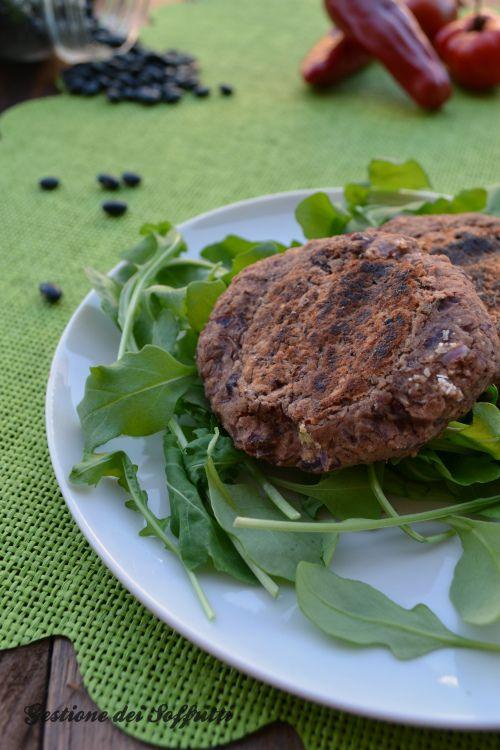 Hamburger di Fagioli Rossi