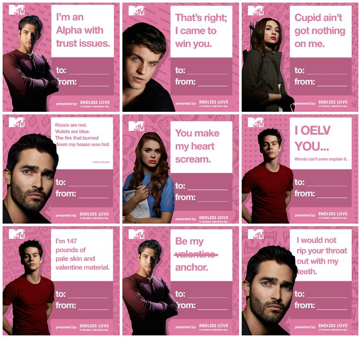 Happy Valentineu0027s Day From #TeenWolf + Endless Love!