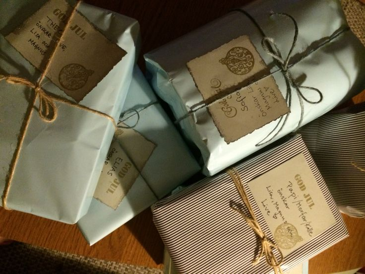 Gift wrapping inspiration #giftwrapping #inspo #diy