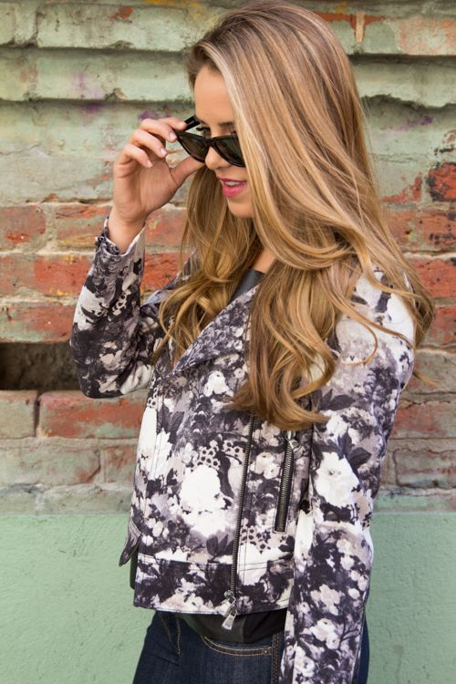 love these style of curls, the hair color is gorgeous -- via girl meets glam