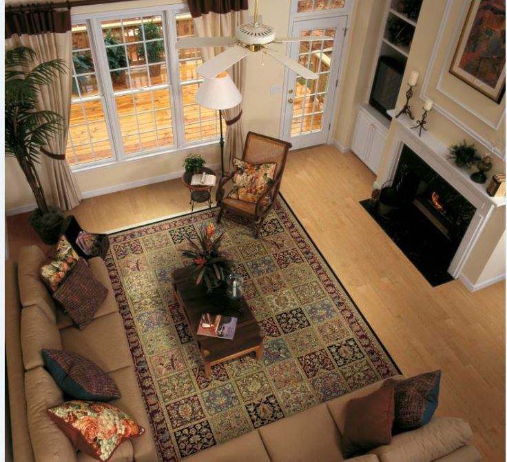 Available In Several Sizes Shaws Mount Vernon Area Rug Makes A Cozy Living Even