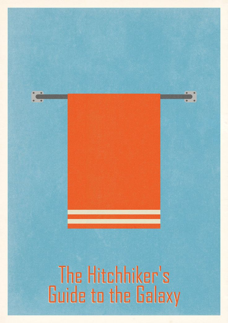 minimalmovieposters:  The Hitchhiker's Guide to the Galaxy by process-junkie