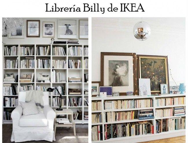 Librer a billy ikea librerias pinterest libro ikea - Libreria billy ikea ...