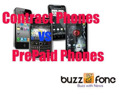 How to choose between prepaid and contract cell phones.