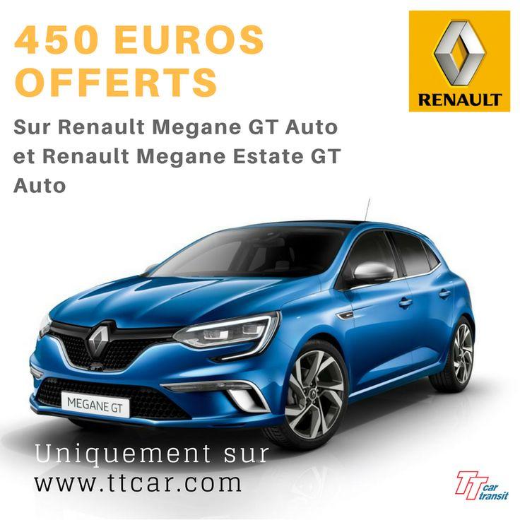 Promotion Renault 450€ sur Mégane GT Automatique. Exclusif ttcar #promo #renault #eurodrive #ttcartransit #expat #expatlife