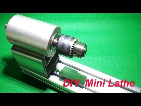 DIY Spindle Lathe Chucks Homemade Wood Lathe Headstock Drill Mill Free Energy Generator Electricity - YouTube