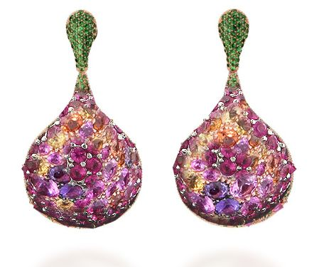 2016 Collection of Gemstone & Diamond Earrings