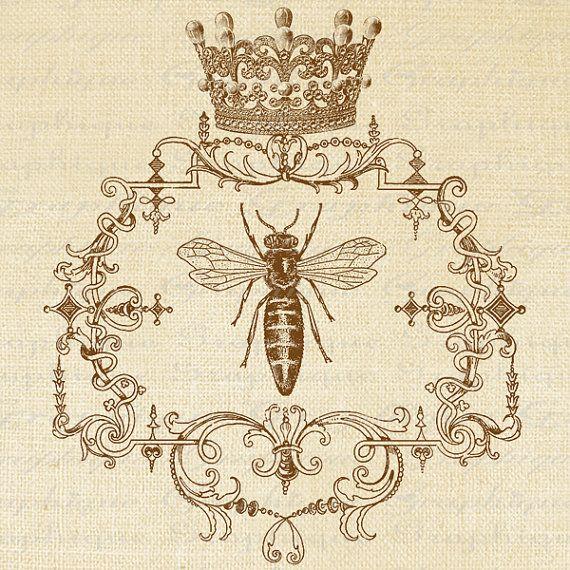 queen bee fabric transfer