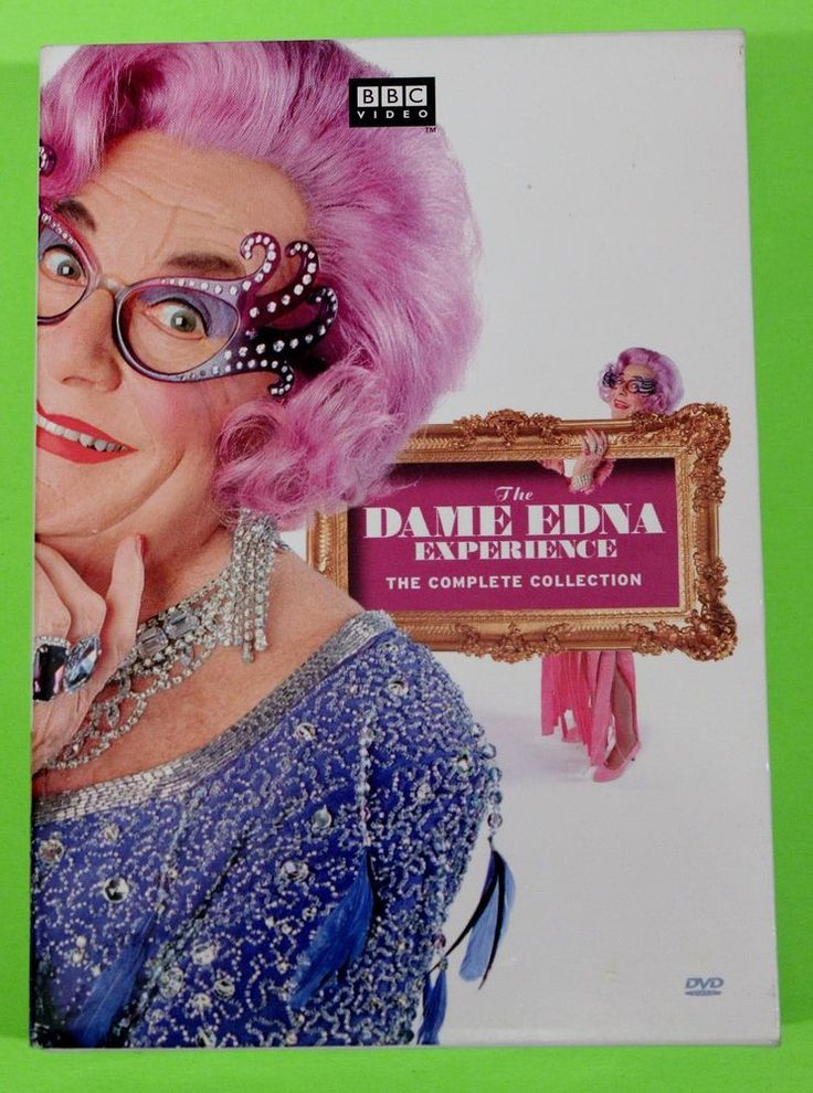 The Dame Edna Experience The Complete Collection DVD Barry Humphries Comedy TV