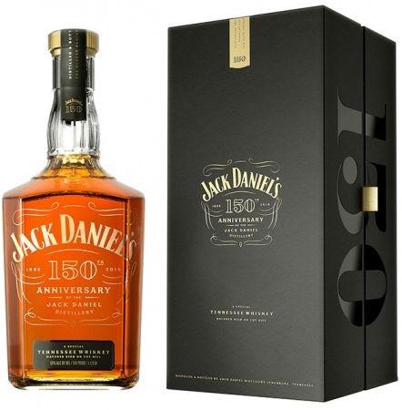 ジャック ダニエル 蒸溜所創業150周年アニバーサリー 『ジャック ダニエル』から「150周年アニバーサリー」登場--秋の夜長にぴったりの深いコク ウイスキーブランド『ジャック ダニエル』から、「蒸溜所創業150周年アニバーサリー」が発売されました。甘い香りとコク深い味わいが印象的なテネシーウイスキーです。