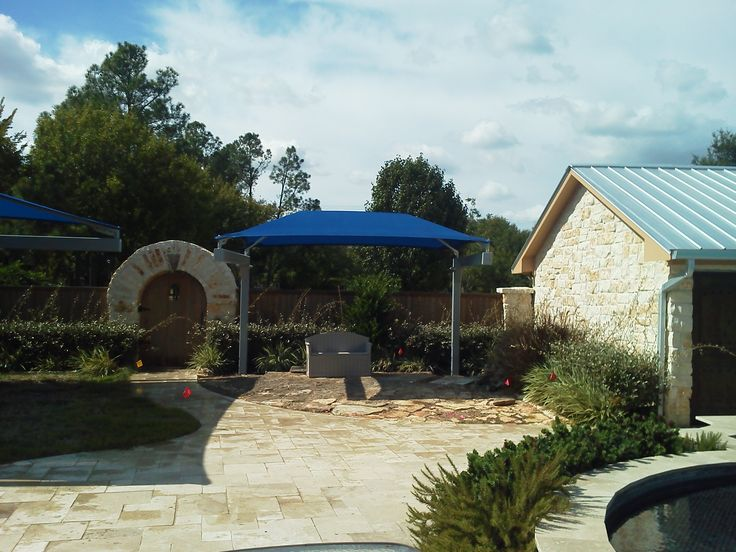 26 best images about 12 x 15 single post cantilever shade for Dunrite