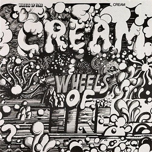 Wheels of Fire by Cream (1968) | Community Post: 42 Classic Black And White Album Covers
