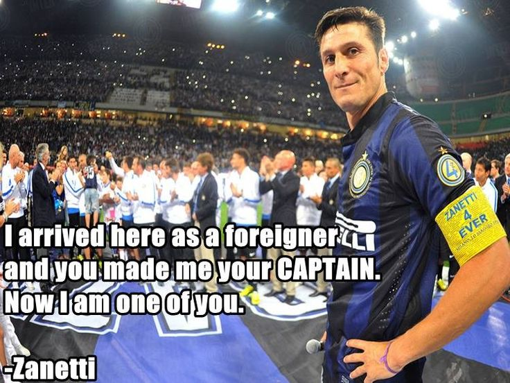 On this day one year ago Javier Zanetti retired from football. #Legend