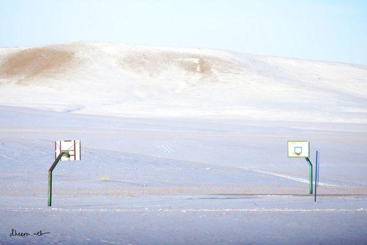 As imagens brancas e geladas da Mongólia - Observador