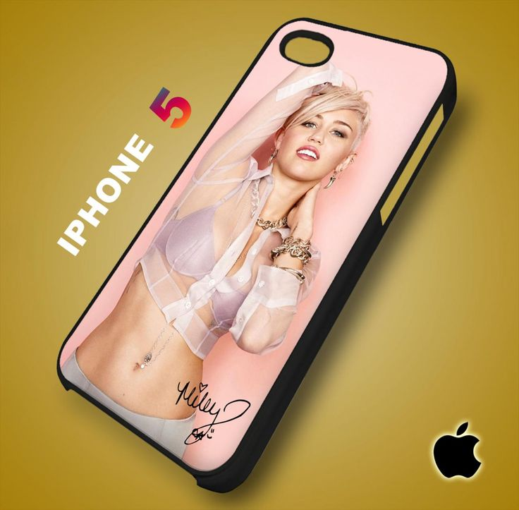 Sexy Miley Cyrus iPhone 5 Case Durable Plastic