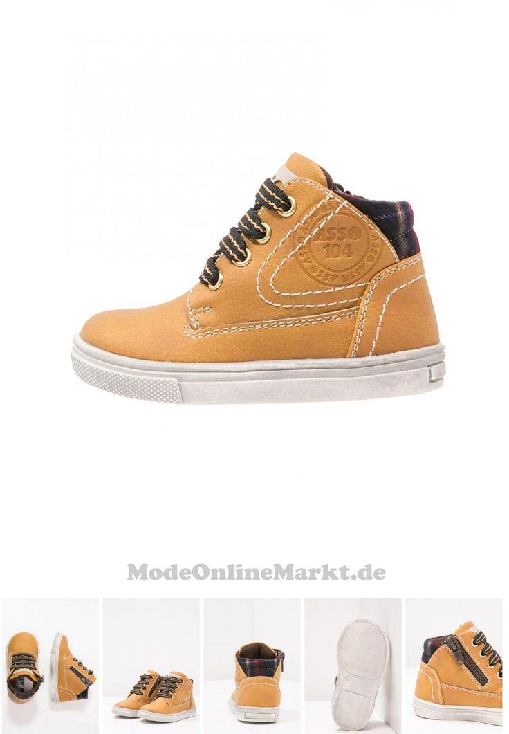| #Asso #Sneaker #high #yellow #für #Jungen