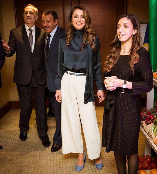 ♔♛Queen Rania of Jordan♔♛... Queen Rania attends RHAS's Capacity Building Day