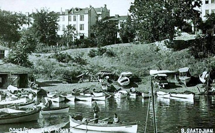İstanbul, Kadıköy Moda (1930'lar).