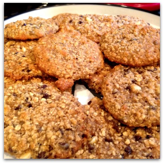 Healthy Oatmeal Cookies…. the chewy kind!
