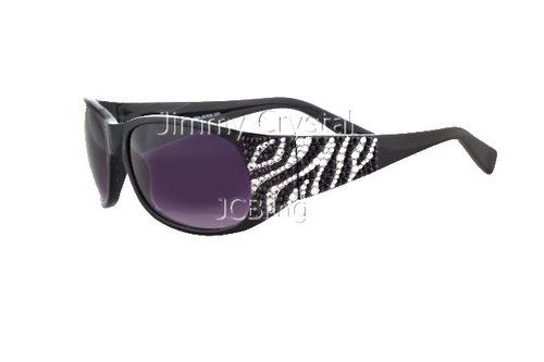 Isi Jimmy Crystal Jimmy Crystal Sunglasses Women S Zebra