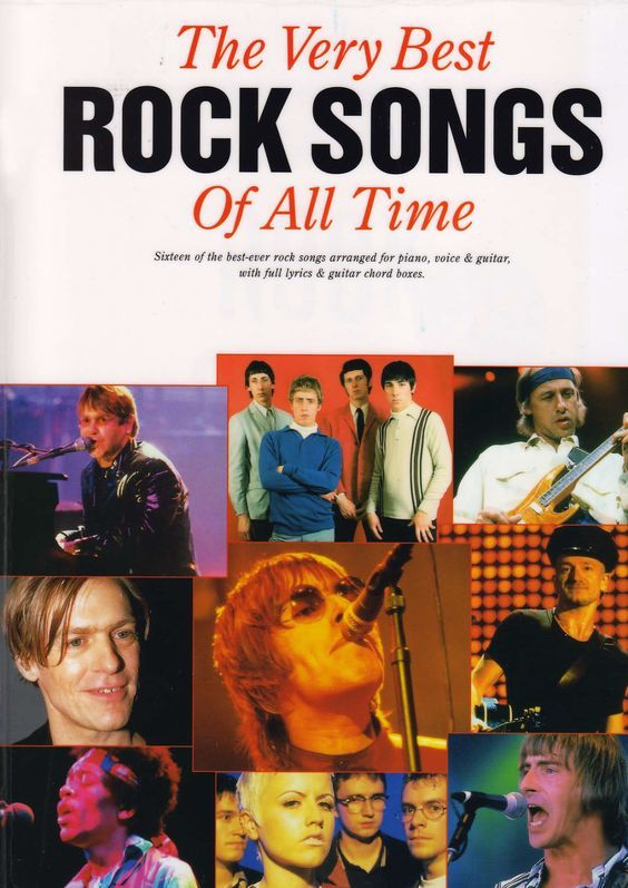 Partituras para piano de The Very Best Rock Songs Of All Time en pdf para descargar gratis