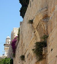 I remember this! It's the temple mount wall where there used to be a bridge!