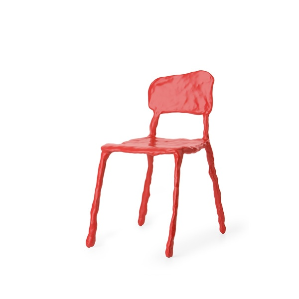 """Clay"" dining chair - Maarten Baas: Amazing Chairs, Baa Clay, Clay Dining, Maarten Baa, Chairs Red, Dining Chairs, Clay Chairs, Folding Chairs, Clay Furniture"