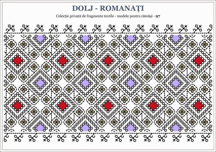 Semne Cusute: Romanian traditional motifs - OLTENIA - Dolj Roman...