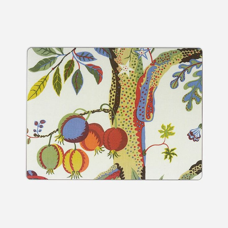 Placemat Vegetable Tree