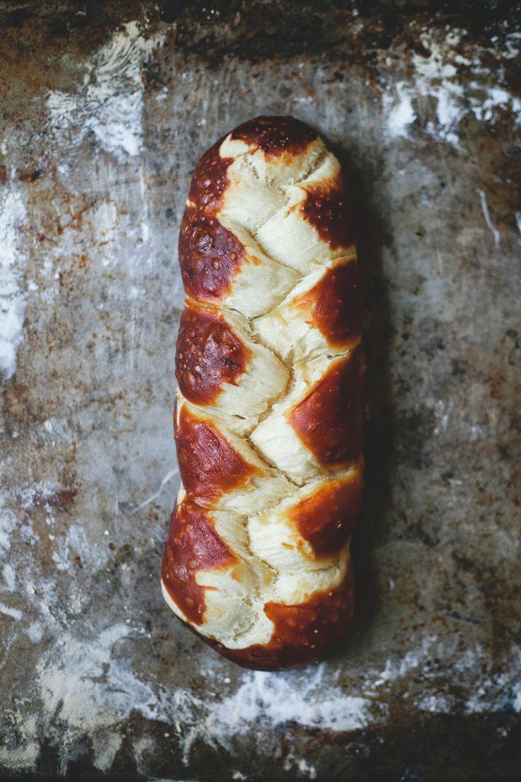 pretzel challah