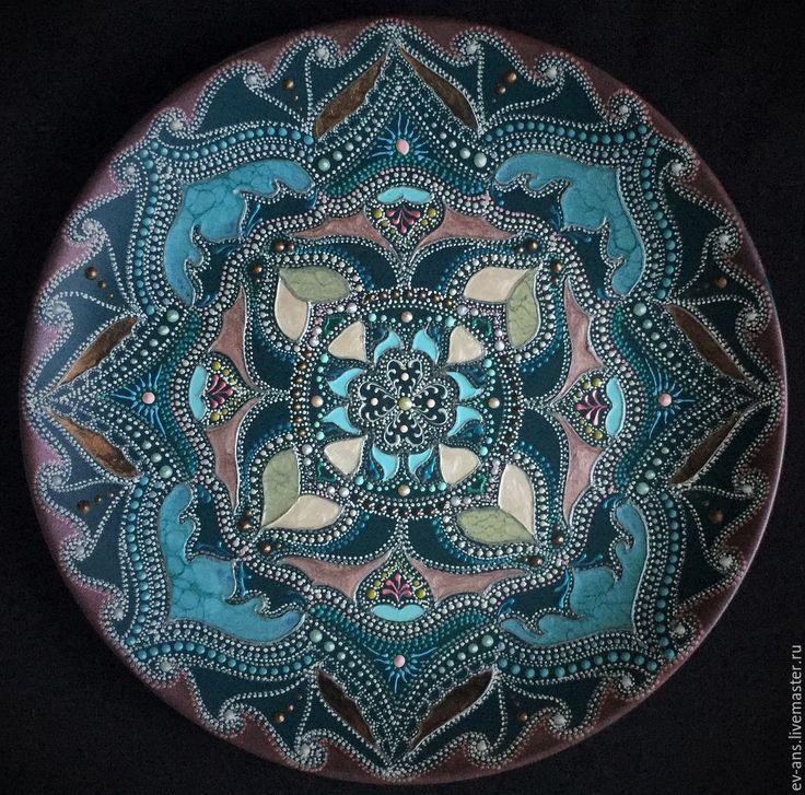 Купить Тарелка декоративная Сold heart - тарелка сувенирная, тарелка на стену, оригинальный подарок