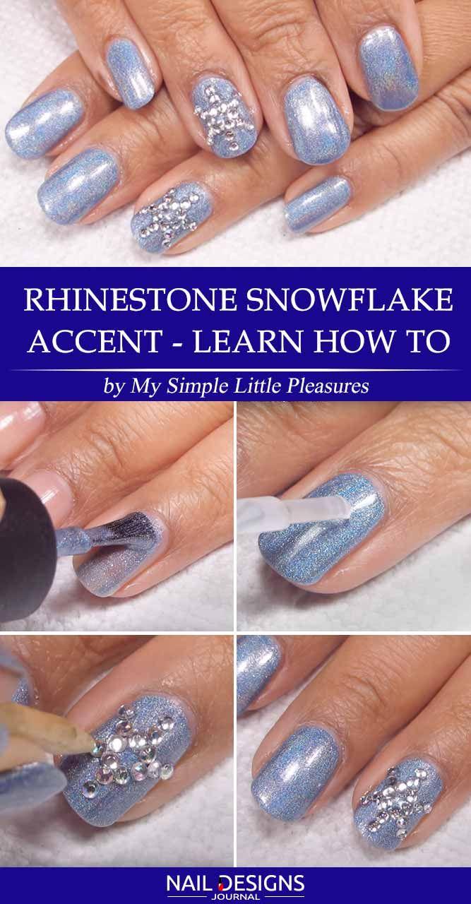 Best Tutorials on Snowflake Nails Designs verzorging