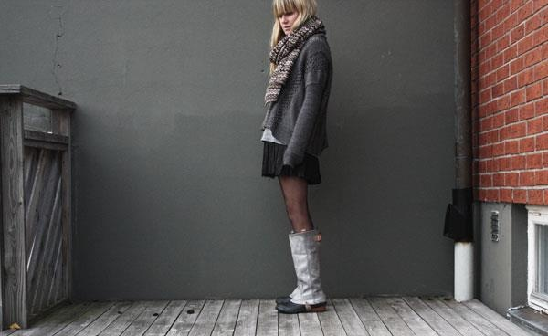 Check out this stylish fall look from Sweden, featuring the #Slimpack Riding Boot. #SOREL