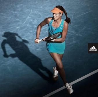 Ana Ivanovic's dress for the 2014 Australian Open #Adidas #tennis http://www.womenstennisblog.com/2013/12/06/ana-ivanovics-adidas-dress-for-the-2014-australian-open-revealed/