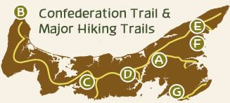Island Trails PEI - Hiking, Biking & Woodland Trails - Prince Edward Island