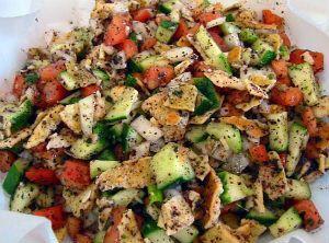 """Восточный салат """"Фатуш"""" - рецепт приготовления с фото, как приготовить"""