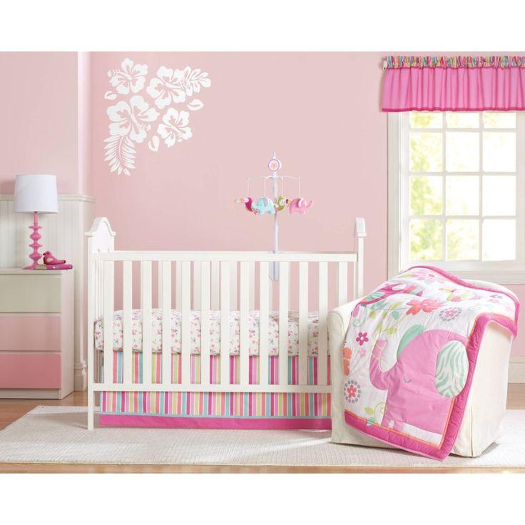 Tropical Crib Bedding