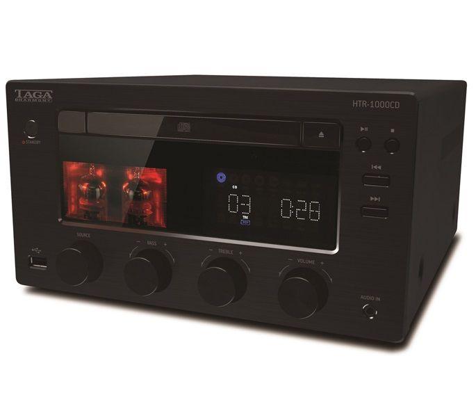 TAGA HTR-100CD. Un auténtico todo-en-uno con CD y amplificador a válvulas. #lectorCD #receptor #estéreo #sintonizador #audio #HiFi #altafidelidad #Taga