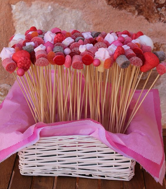 Mejores 32 im genes de candy bar en pinterest golosinas for Decoracion navidena con chuches