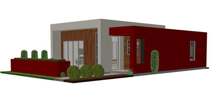 Small Modern House Plans Designs | Casita Plan: Small Modern House Plan