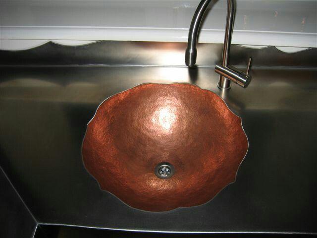 Keuken Handgrepen Koper : Pinterest – Koperen Keuken, Natuurlijke Kleuren en Koperen Spoelbakken