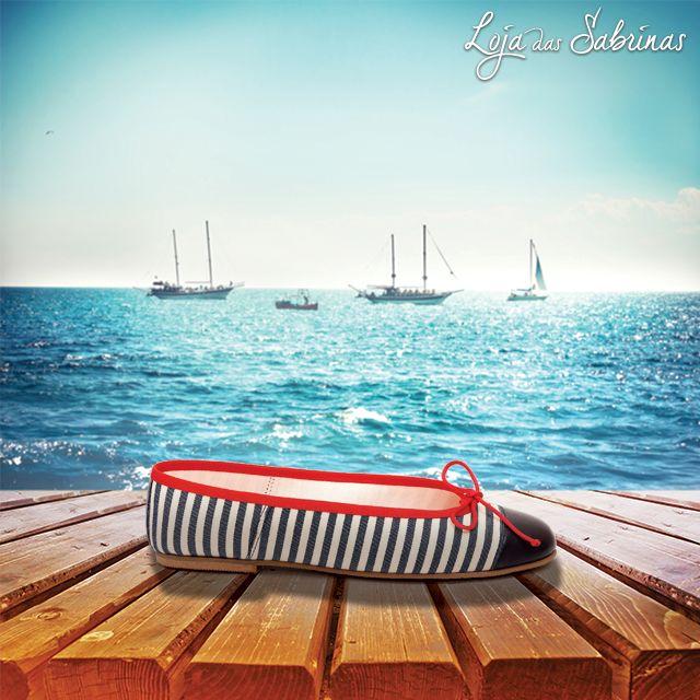 Não perca de vista os dias inesquecíveis deste verão com as Sabrinas Náutica.