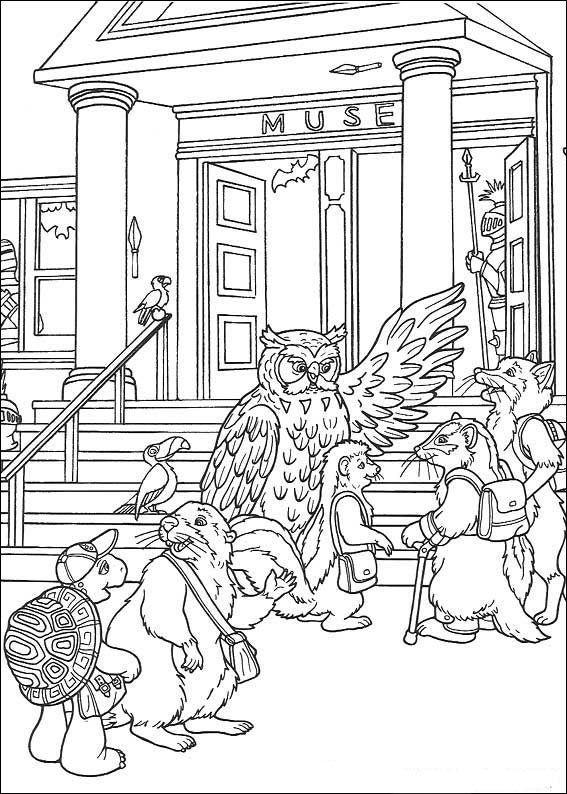 Franklin Ausmalbilder Malvorlagen Zeichnung Druckbare No 22