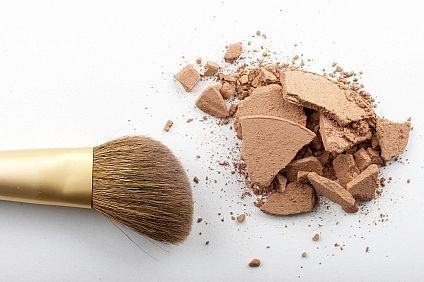 How to fix a broken powder compact. It really works!