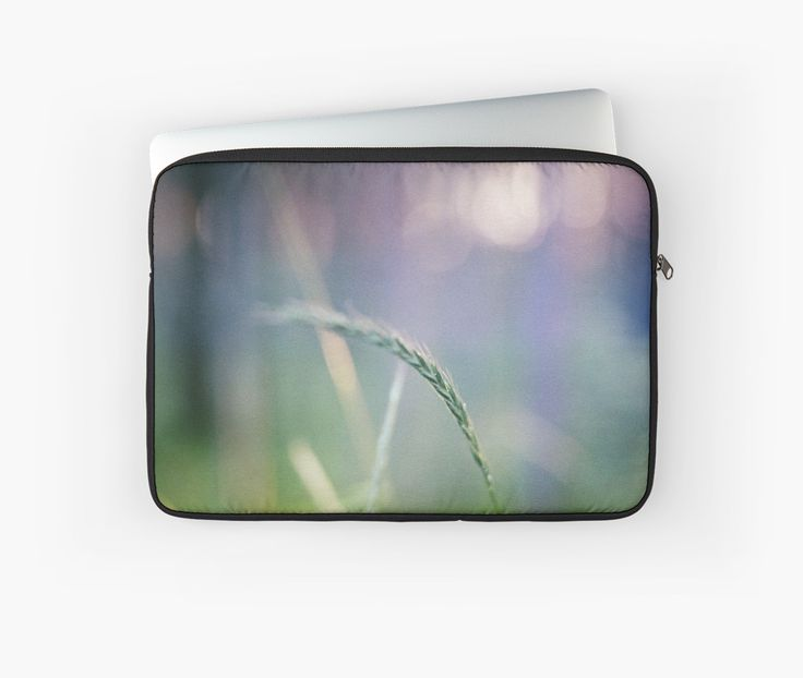 Ear with nature abstract background. Laptop Sleeve