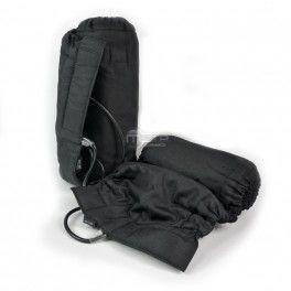 Paire de couvertures chauffantes auto-régulées 60-80 degrés noires