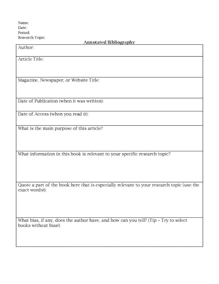 annotated bibliography practice worksheet Annotated bibliographies, see chapter 12, citing your research using mla or apa style the second part of the entry is the summary of the evidence being cited.